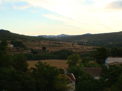 7 Vista del la Vall de L'ansarí desde el Camí