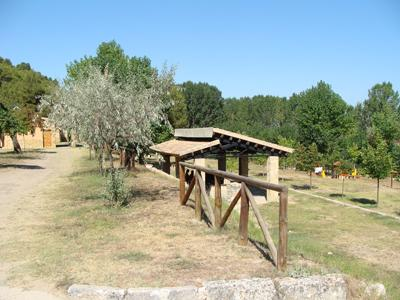 16 Zona d'acampada